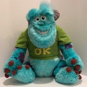 Disney Monsters Inc Sulley Monster Soft Plush